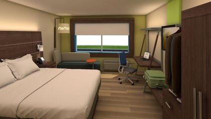 Guestroom | Holiday Inn Express & Suites Charlotte Airport