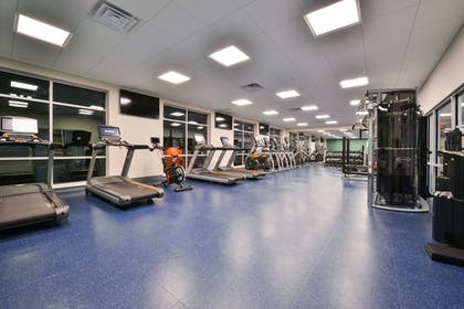 Fitness Facility | Holiday Inn Express & Suites Madison