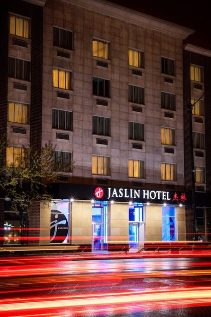 Hotel Front - Evening/Night | Jaslin Hotel