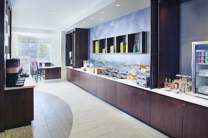 Breakfast Area | Springhill Suites by Marriott Carle Place Garden City