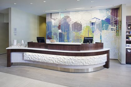 Lobby | Springhill Suites by Marriott Carle Place Garden City