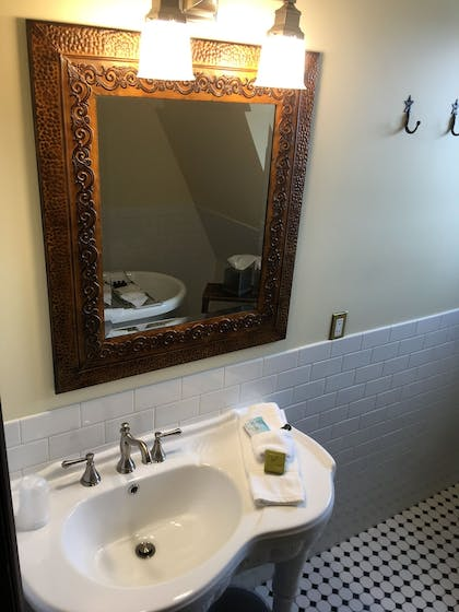 Bathroom | The Historic Sheridan Inn