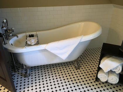 Deep Soaking Bathtub | The Historic Sheridan Inn