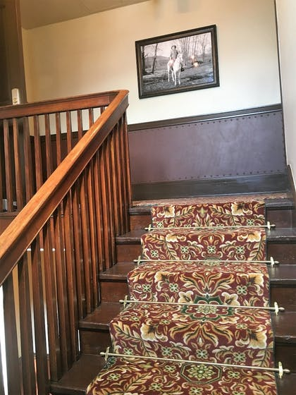 Staircase | The Historic Sheridan Inn