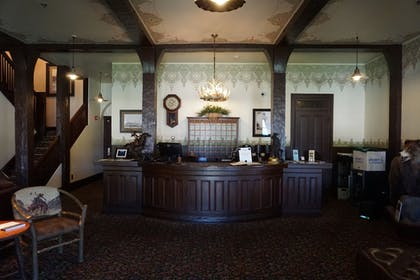 Lobby | The Historic Sheridan Inn