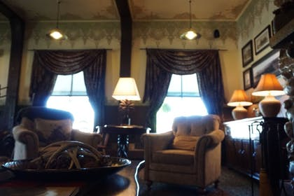 Lobby Sitting Area | The Historic Sheridan Inn