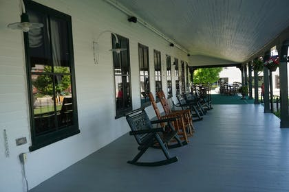 Porch | The Historic Sheridan Inn