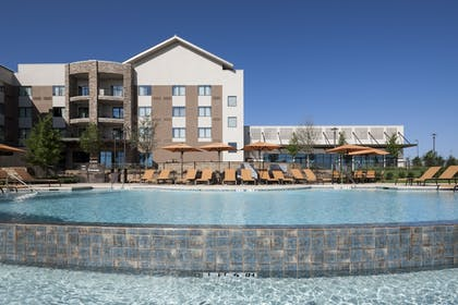 Pool Waterfall | Courtyard by Marriott Fort Worth at Alliance Town Center