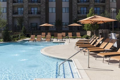 Outdoor Pool | Courtyard by Marriott Fort Worth at Alliance Town Center