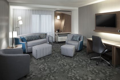 Living Area | Courtyard by Marriott Fort Worth at Alliance Town Center