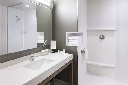 Bathroom | Courtyard by Marriott Fort Worth at Alliance Town Center