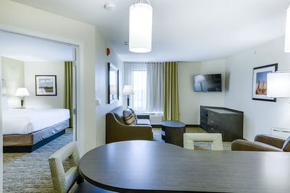 Living Room | Candlewood Suites Lakeville I-35