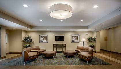 Lobby Sitting Area | Candlewood Suites Lakeville I-35