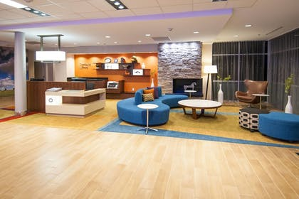 Lobby | Fairfield Inn & Suites San Antonio Brooks City Base