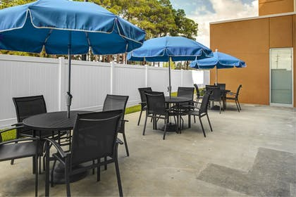 Terrace/Patio | Fairfield Inn & Suites by Marriott Douglas