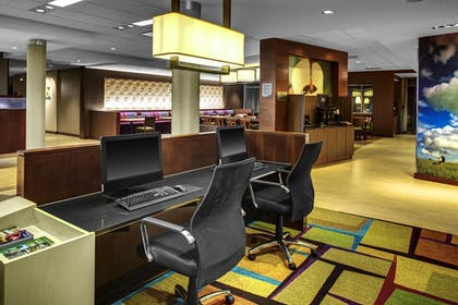 Business Center | Fairfield Inn & Suites by Marriott Douglas