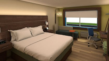 Guestroom | Holiday Inn Express & Suites Omaha Airport