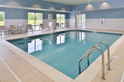 Indoor Pool | Holiday Inn Express & Suites Omaha Airport