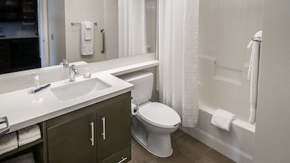 Bathroom | Candlewood Suites Fairbanks