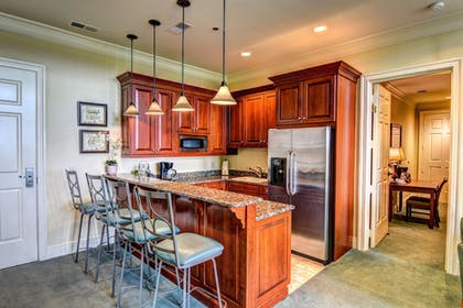 In-Room Kitchen | River Landing