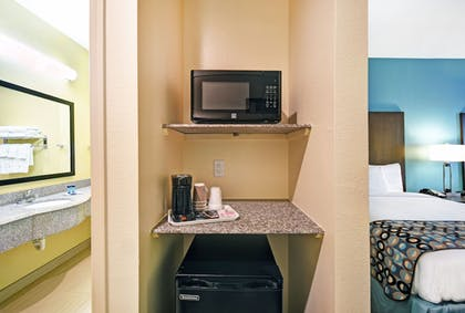 In-Room Amenity | Galveston Inn & Suites Hotel