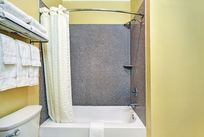 Bathroom Shower | Galveston Inn & Suites Hotel