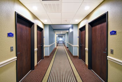 Hallway | Galveston Inn & Suites Hotel