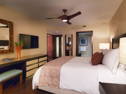 | 1 Bedroom Resort View King Suite with Sofabed  | The Grand Islander by Hilton Grand Vacations