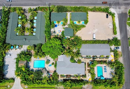 Aerial View | Siesta Key Palms Resort