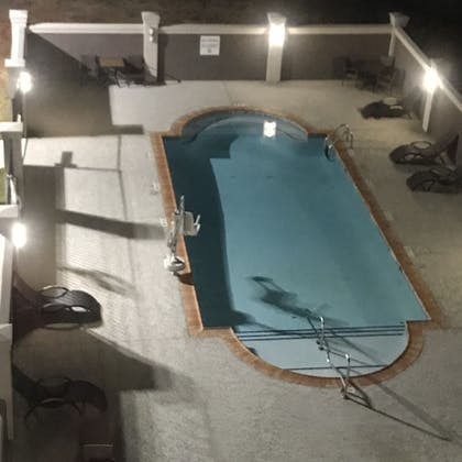 Pool | Holiday Inn Express Pineville-Alexandria Area