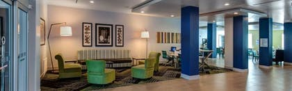 Lobby Sitting Area | Holiday Inn Express & Suites Gatesville