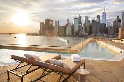 Rooftop Pool | 1 Hotel Brooklyn Bridge