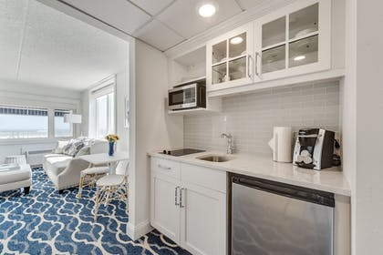 In-Room Kitchenette | ICONA Cape May