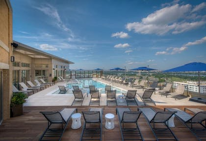 Outdoor Pool | Global Luxury Suites at South Arlington