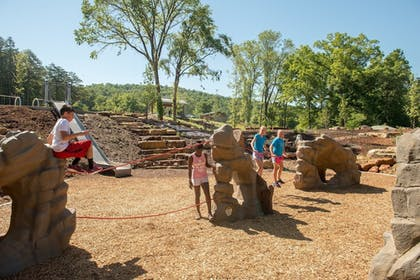 Childrens Play Area - Outdoor | Echo Bluff State Park