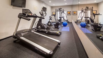 Fitness Facility | Best Western Plus Denver City Hotel and Suites