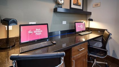 Business Center | Best Western Plus Denver City Hotel and Suites