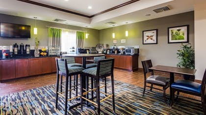 Breakfast Area | Best Western Plus Denver City Hotel and Suites