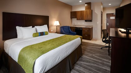 In-Room Kitchenette | Best Western Plus Denver City Hotel and Suites