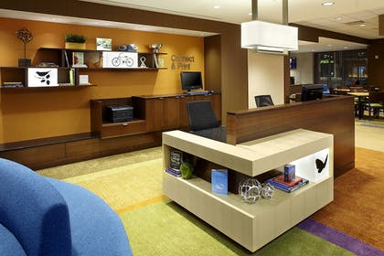 Concierge Desk | Fairfield Inn & Suites Wheeling Triadelphia at The Highlands