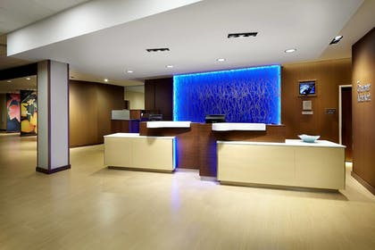 Lobby | Fairfield Inn & Suites Wheeling Triadelphia at The Highlands