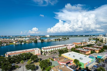 View from Hotel | Hampton Inn & Suites Clearwater Beach