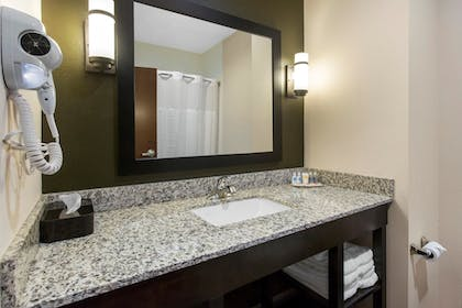 Bathroom | Comfort Inn & Suites Moore - Oklahoma City