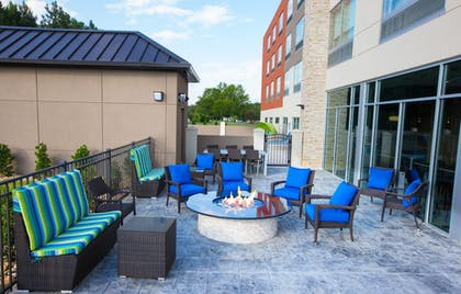Terrace/Patio   Holiday Inn Express & Suites Greenwood Mall