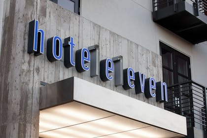 Hotel Front | Hotel Eleven