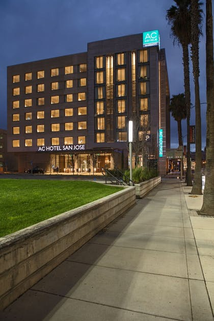 Hotel Front - Evening/Night | AC Hotel by Marriott San Jose Downtown
