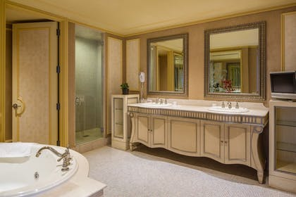 Bathroom | Showboat Hotel