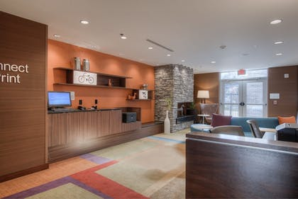 Business Center | Fairfield Inn and Suites by Marriott Charlotte Airport