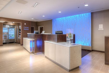 Reception | Fairfield Inn and Suites by Marriott Charlotte Airport
