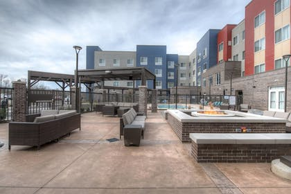 Terrace/Patio | Fairfield Inn and Suites by Marriott Charlotte Airport